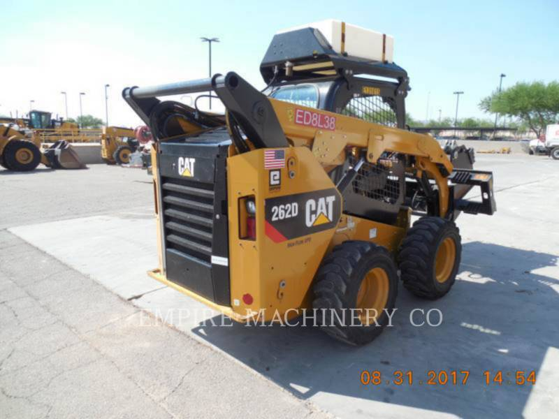 CATERPILLAR CHARGEURS COMPACTS RIGIDES 262D XPS equipment  photo 1