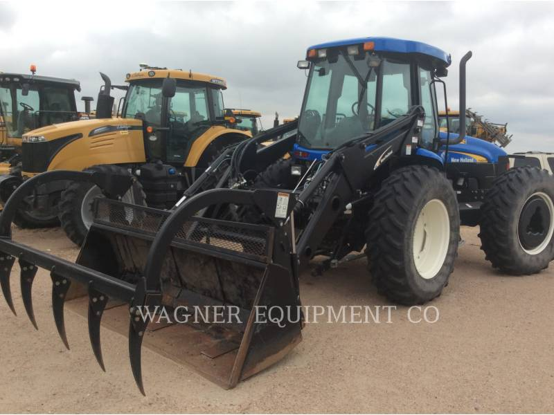 NEW HOLLAND LTD. TRACTEURS AGRICOLES TV6070 equipment  photo 3