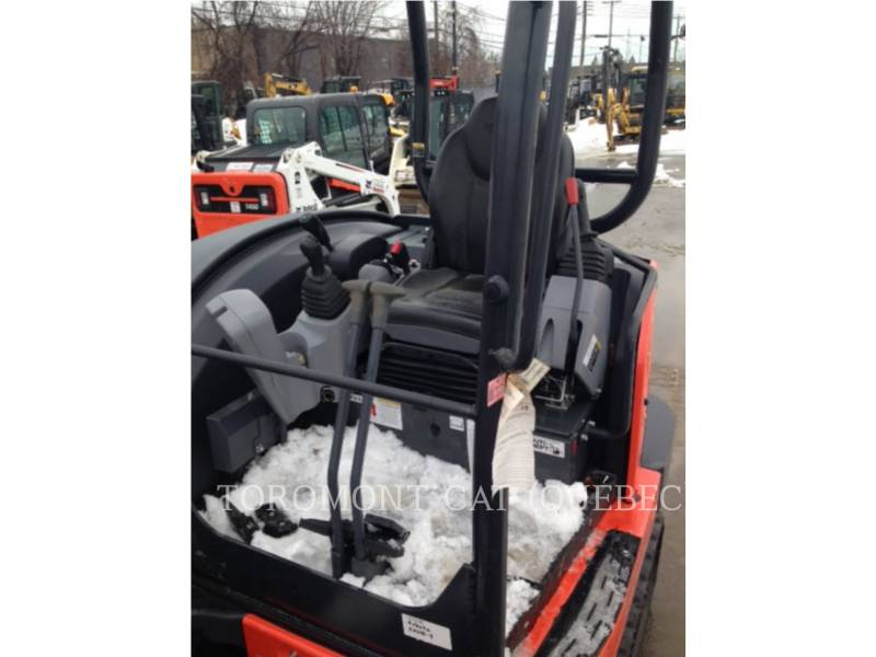 KUBOTA CORPORATION KOPARKI GĄSIENICOWE KX040-4 equipment  photo 14