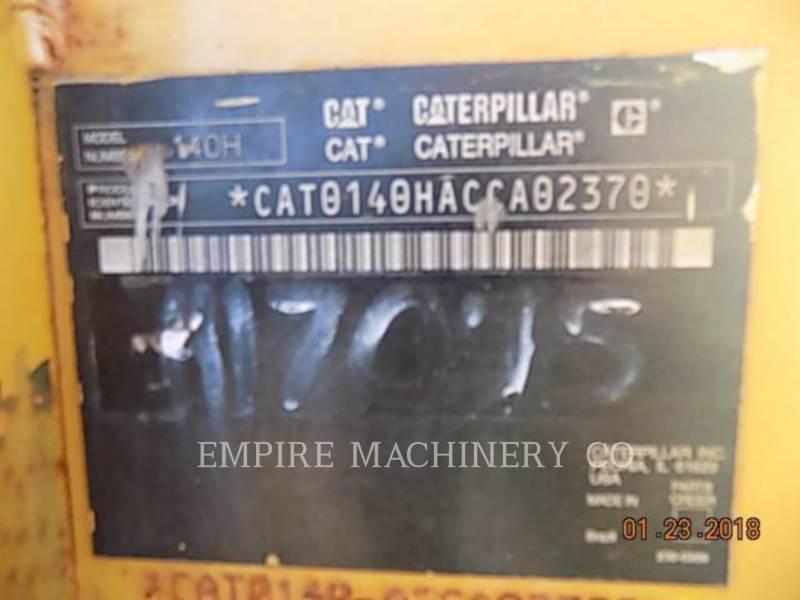 CATERPILLAR MOTONIVELADORAS 140H equipment  photo 2
