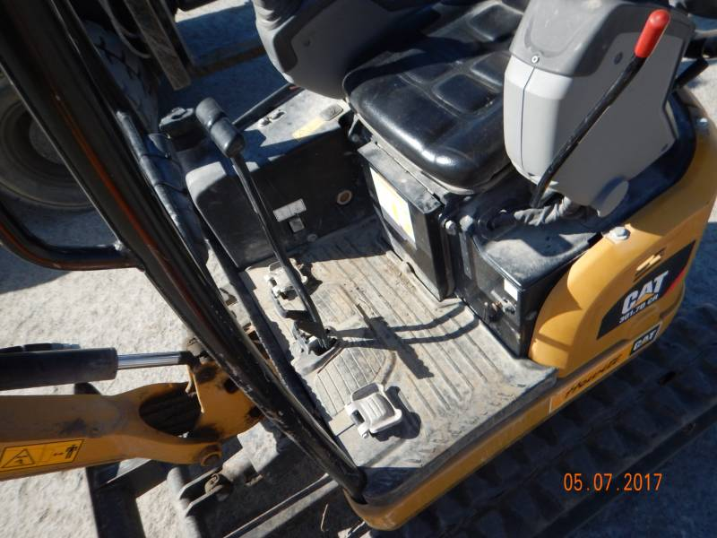 CATERPILLAR TRACK EXCAVATORS 301.7DCR equipment  photo 8