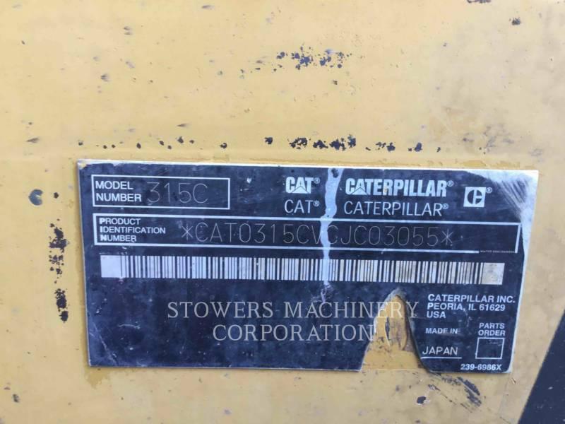CATERPILLAR TRACK EXCAVATORS 315CL equipment  photo 16
