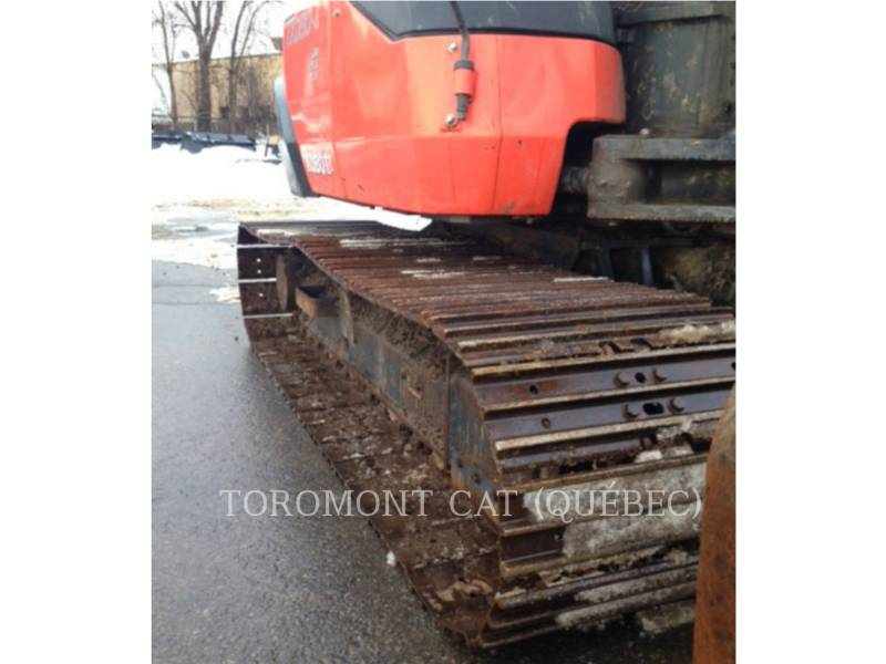 KUBOTA CORPORATION PELLES SUR CHAINES KX080-4 equipment  photo 4