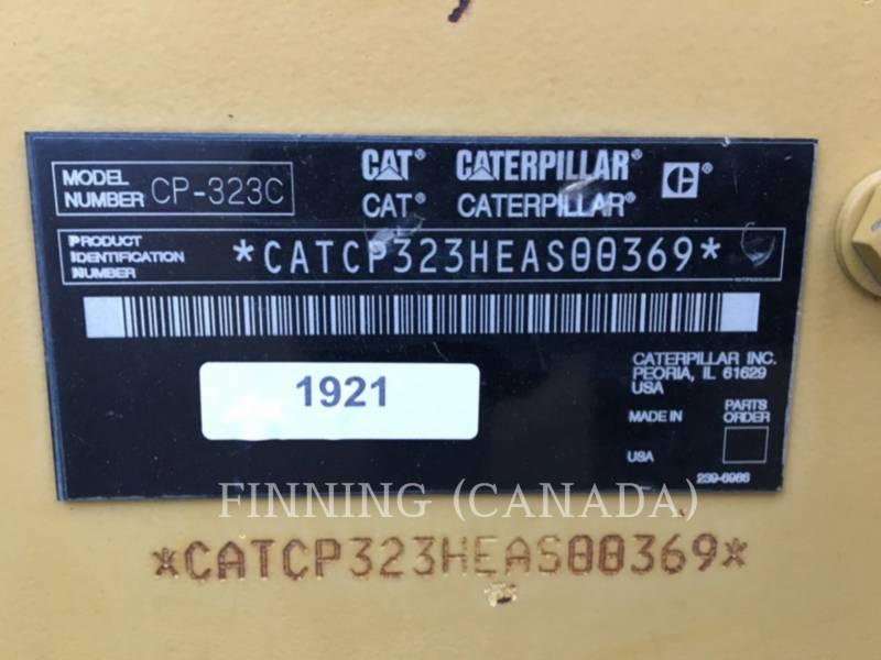 CATERPILLAR EINZELVIBRATIONSWALZE, BANDAGE CP-323C equipment  photo 6