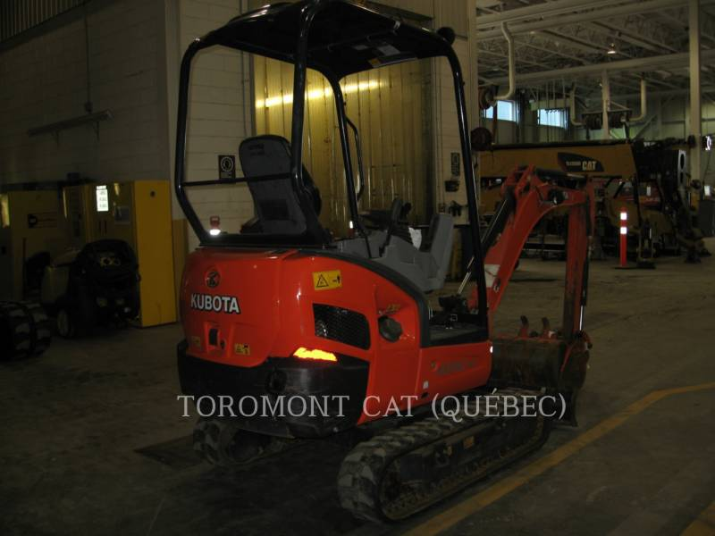 KUBOTA CORPORATION KETTEN-HYDRAULIKBAGGER KX018-4 equipment  photo 2