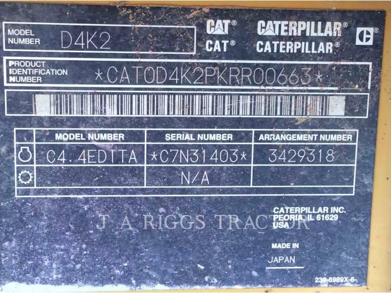 CATERPILLAR TRACK TYPE TRACTORS D 4 K LGP equipment  photo 9