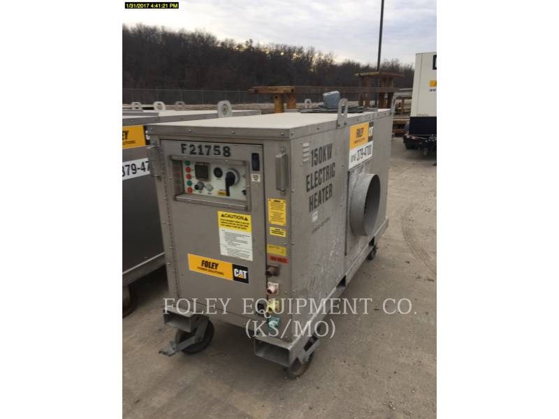 OHIO CAT MANUFACTURING CONTROL DE TEMPERATURA HEATE150KW equipment  photo 1