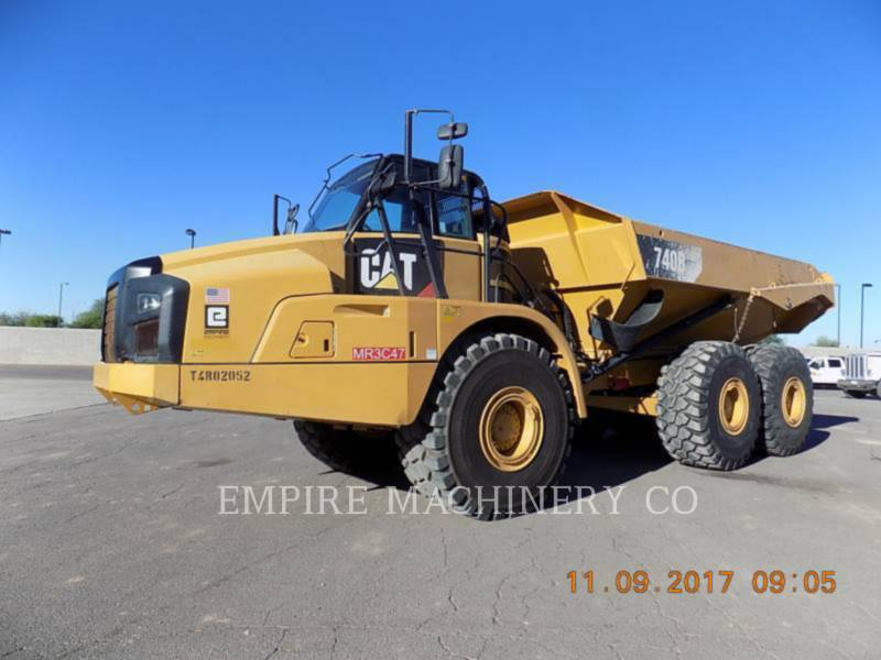 CATERPILLAR MULDENKIPPER 740B TG equipment  photo 4