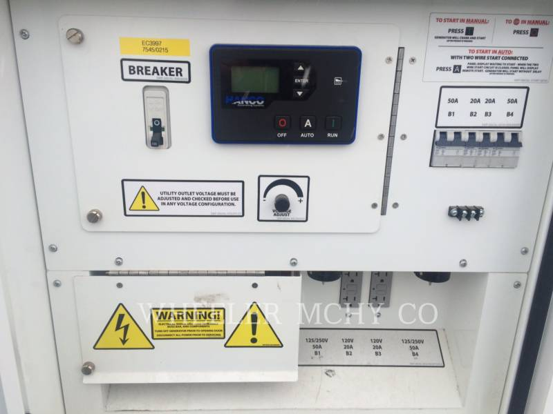 OTHER US MFGRS PORTABLE GENERATOR SETS HANCO - QP35 equipment  photo 5