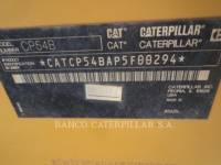 CATERPILLAR VIBRATORY SINGLE DRUM PAD CP54B equipment  photo 7