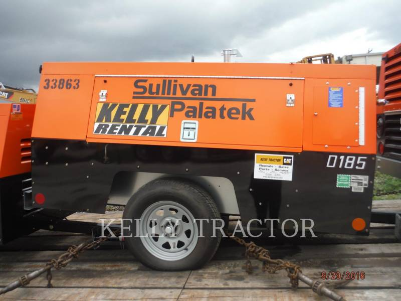 SULLIVAN COMPRESSOR DE AR D185P PK equipment  photo 2