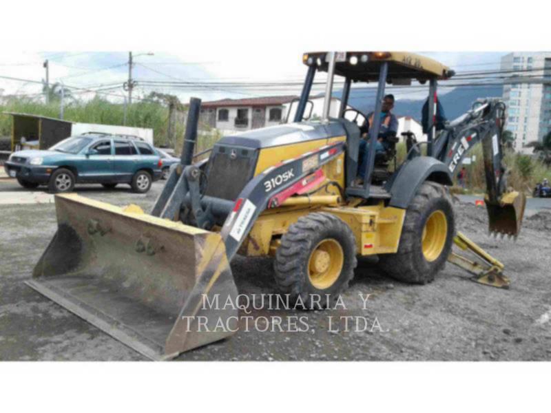 JOHN DEERE BAGGERLADER 310SK equipment  photo 1