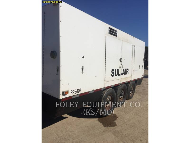 SULLAIR AIR COMPRESSOR (OBS) 1150XHA equipment  photo 4