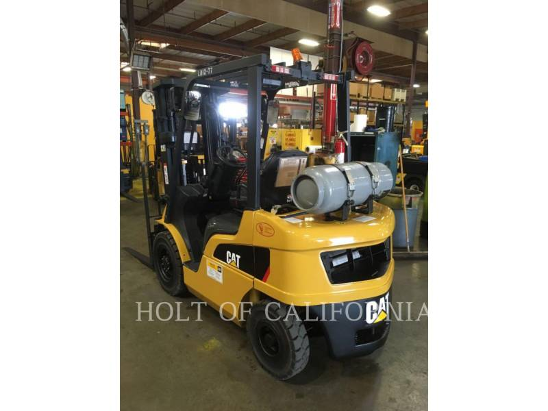 CATERPILLAR MITSUBISHI FORKLIFTS P5000-LE equipment  photo 1