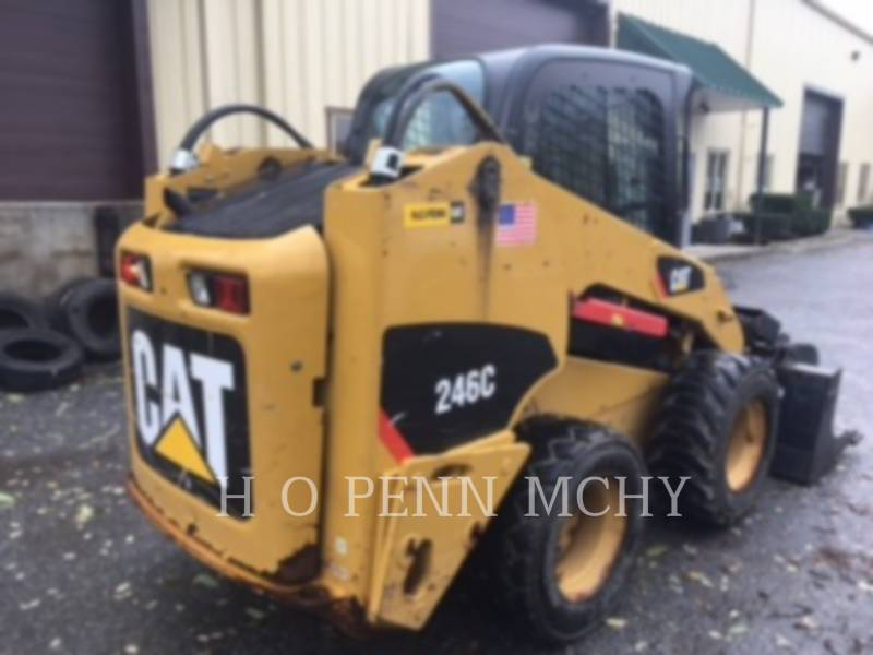 CATERPILLAR CHARGEURS COMPACTS RIGIDES 246 C equipment  photo 8