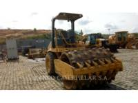 Equipment photo CATERPILLAR CS-423E WALEC DO GRUNTU, GŁADKI 1