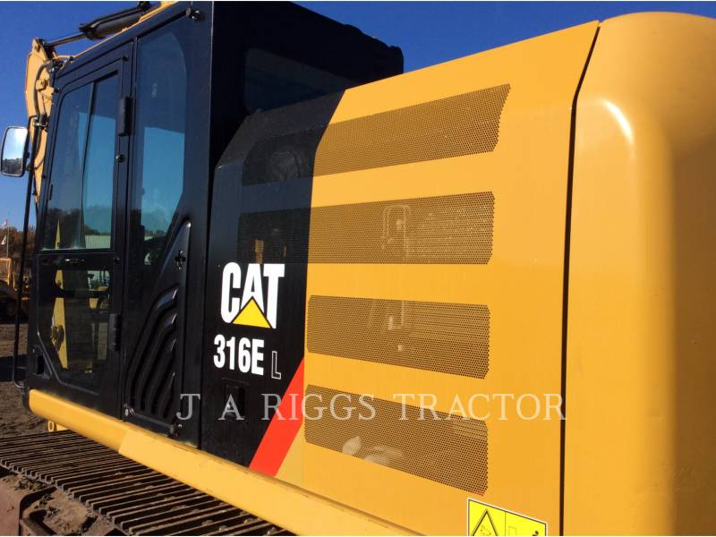 CATERPILLAR PELLES SUR CHAINES 316E 10 equipment  photo 14