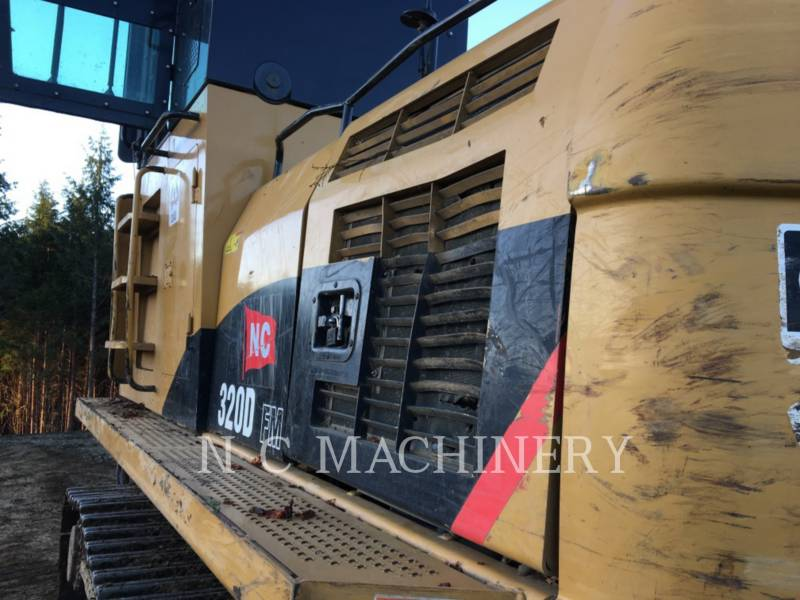 CATERPILLAR MASZYNA LEŚNA 320D FM equipment  photo 8