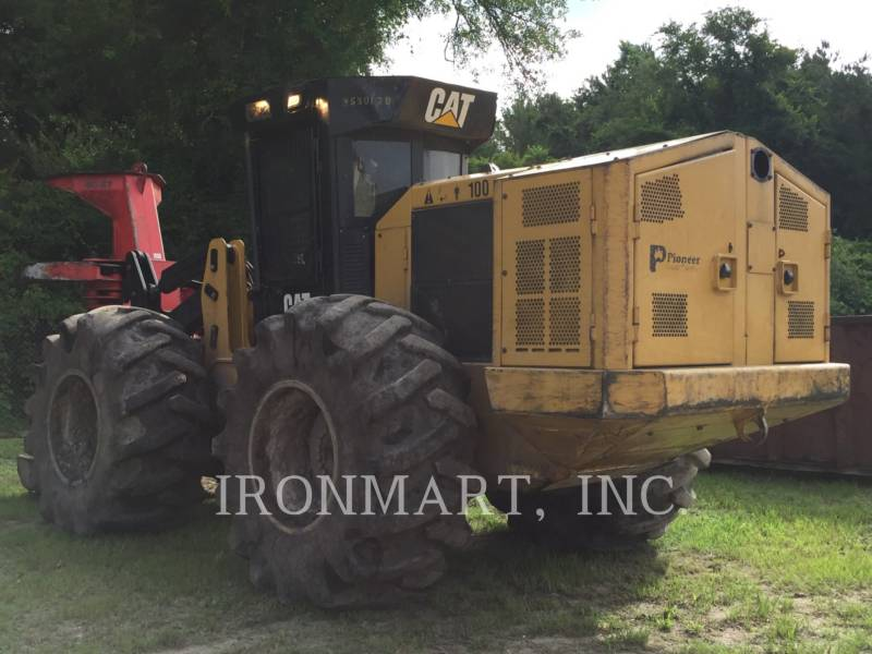 CATERPILLAR FORESTRY - FELLER BUNCHERS - WHEEL 553C equipment  photo 5
