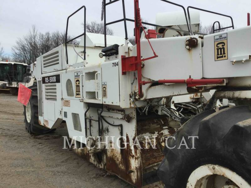 CMI STABILIZERS / RECLAIMERS RS-500B equipment  photo 7