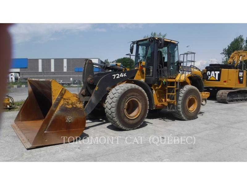 JOHN DEERE WHEEL LOADERS/INTEGRATED TOOLCARRIERS 724K equipment  photo 1