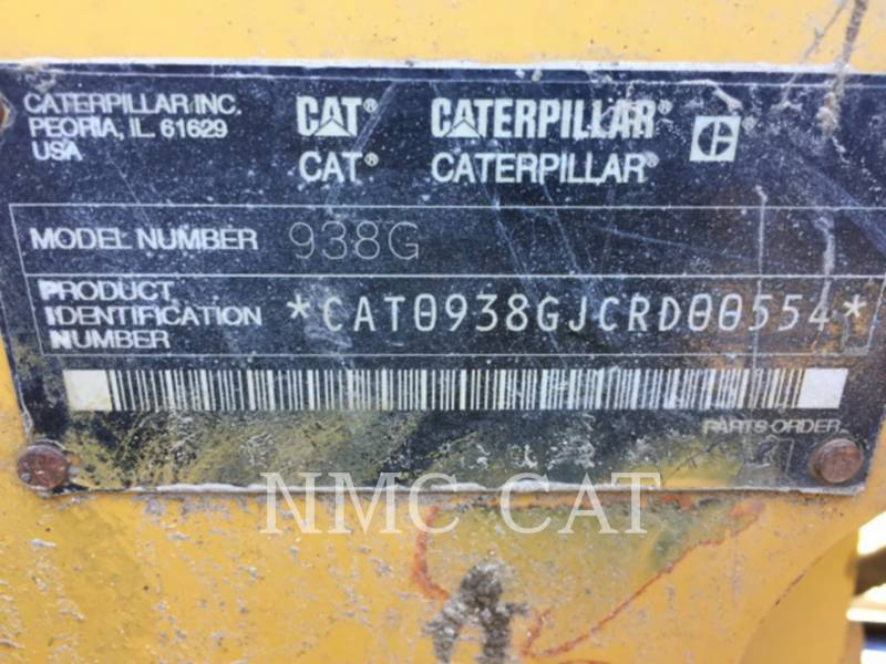 CATERPILLAR RADLADER/INDUSTRIE-RADLADER 938GII equipment  photo 6