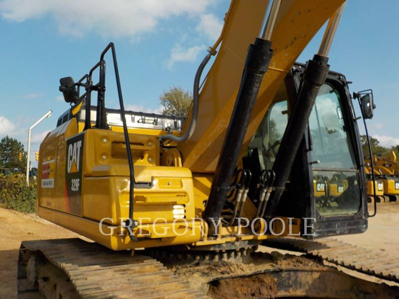CATERPILLAR PELLES SUR CHAINES 329F L equipment  photo 5