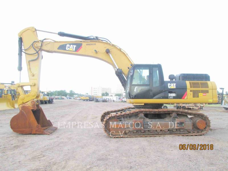 CATERPILLAR KETTEN-HYDRAULIKBAGGER 340D2L equipment  photo 2