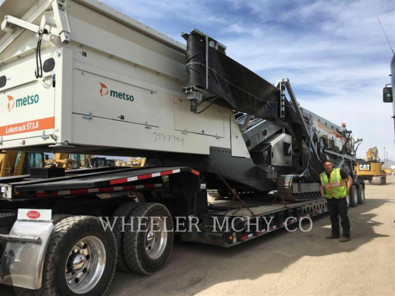 METSO CRIBAS ST3.8 SCRN equipment  photo 1