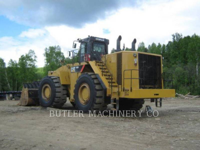 CATERPILLAR CHARGEURS SUR PNEUS MINES 993 K equipment  photo 3