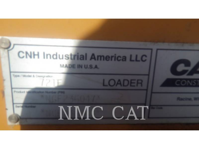 CASE WHEEL LOADERS/INTEGRATED TOOLCARRIERS 721F_CA equipment  photo 6