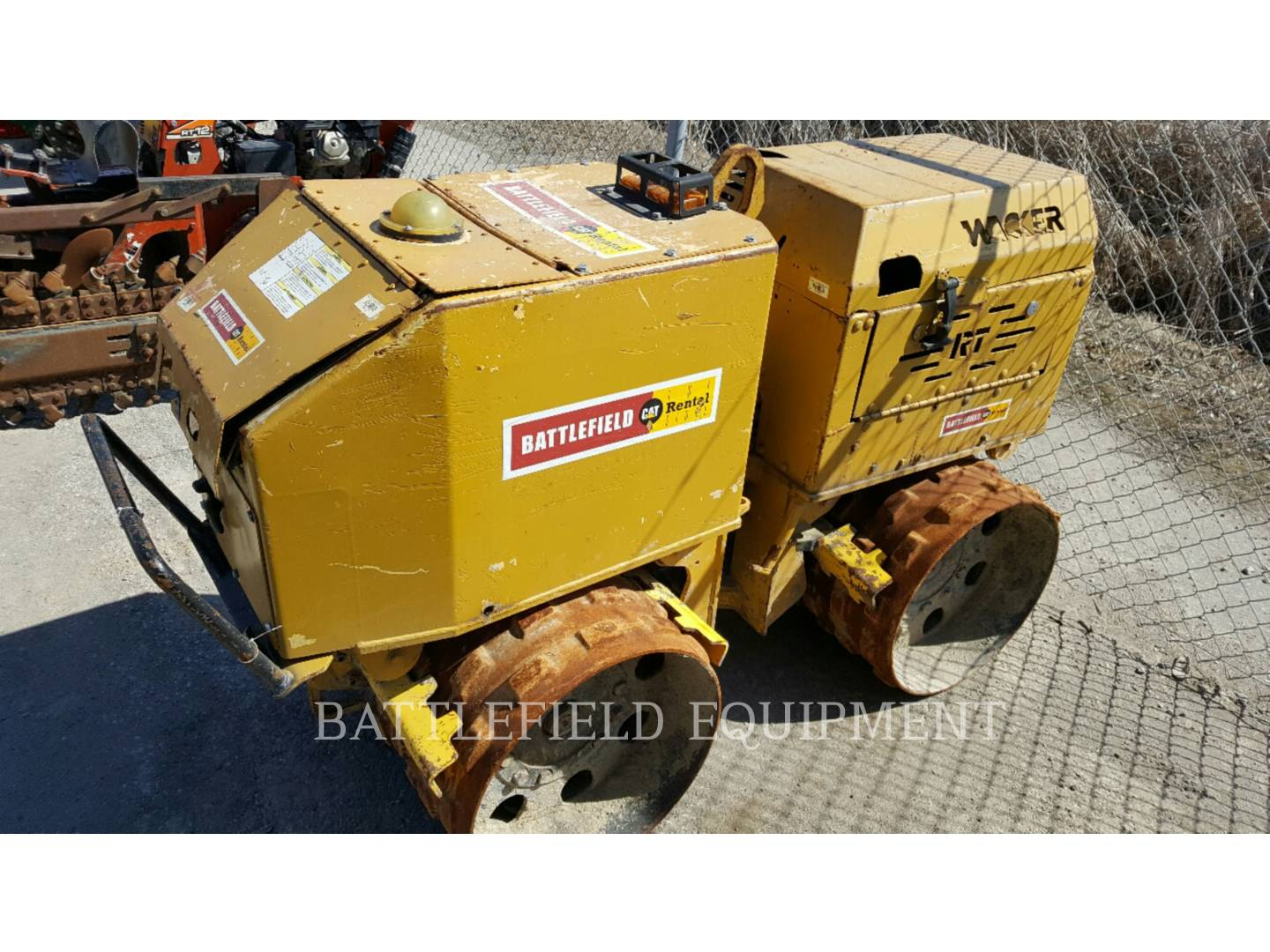 Detail photo of 2003 Wacker Neuson RT820 from Construction Equipment Guide