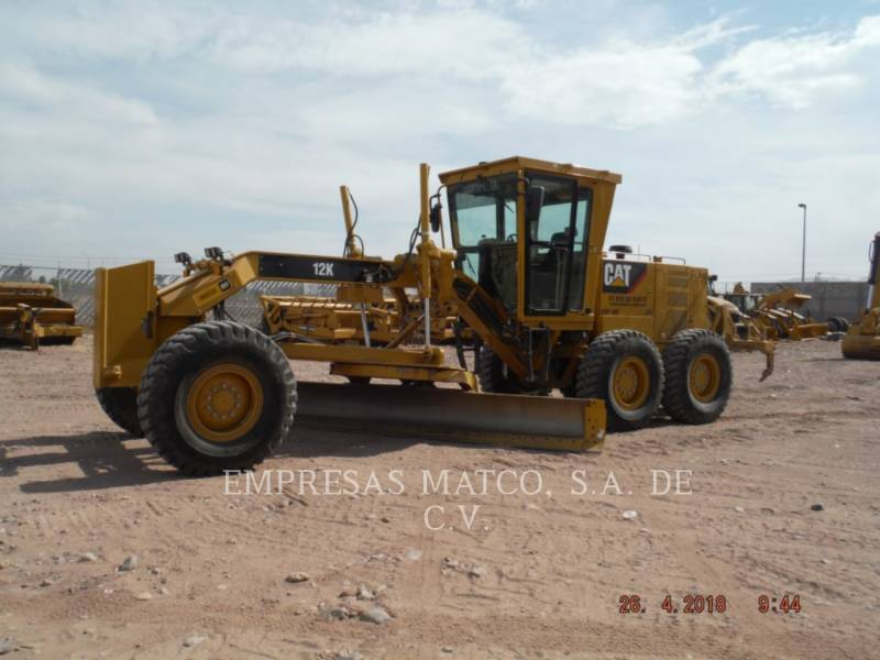 CATERPILLAR MOTORGRADER 12K equipment  photo 1
