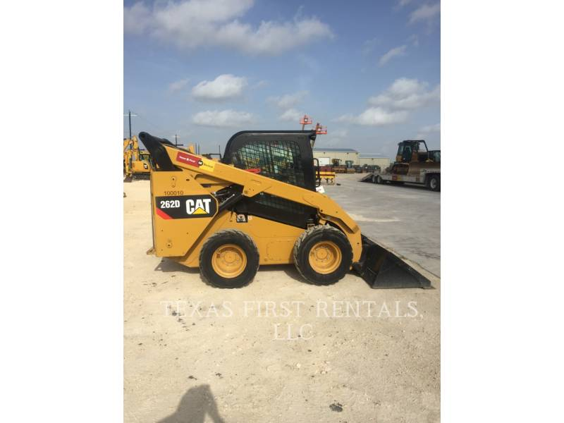CATERPILLAR MINICARGADORAS 262 D equipment  photo 1