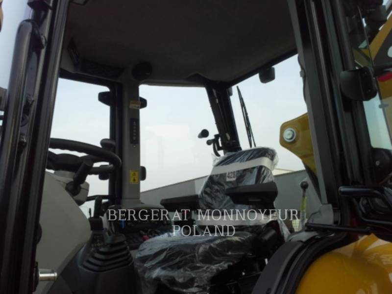 CATERPILLAR BAGGERLADER 428F equipment  photo 4