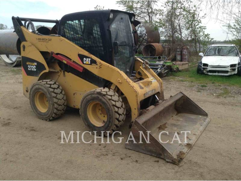 CATERPILLAR SKID STEER LOADERS 272C AQ equipment  photo 1