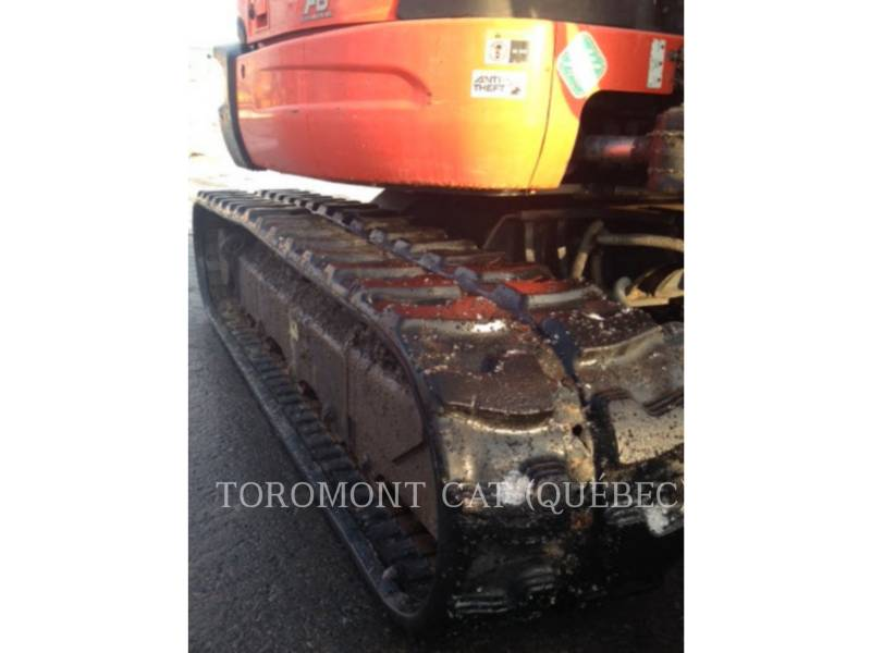KUBOTA CORPORATION EXCAVADORAS DE CADENAS U55 equipment  photo 7