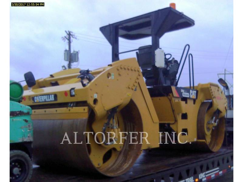 CATERPILLAR TANDEMVIBRATIONSWALZE, ASPHALT CB54XW equipment  photo 3