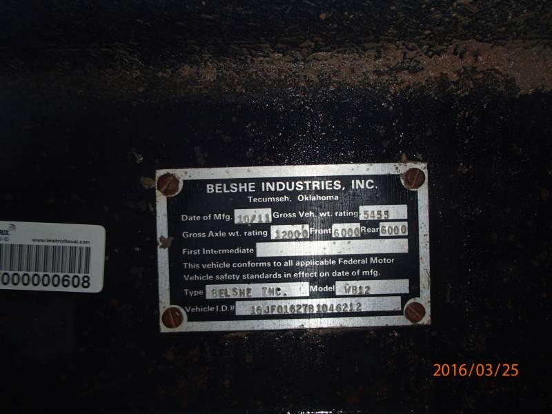 BELSHE TRAILERS WB12 equipment  photo 11
