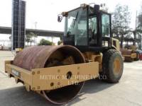 Equipment photo CATERPILLAR CS-563DAW COMPATTATORE A SINGOLO TAMBURO VIBRANTE LISCIO 1