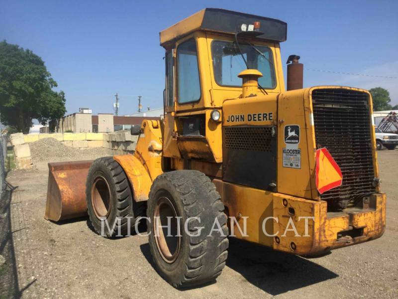 JOHN DEERE WHEEL LOADERS/INTEGRATED TOOLCARRIERS 544B equipment  photo 3