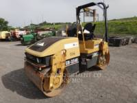 CATERPILLAR TAMBOR DOBLE VIBRATORIO ASFALTO CB-334D equipment  photo 1