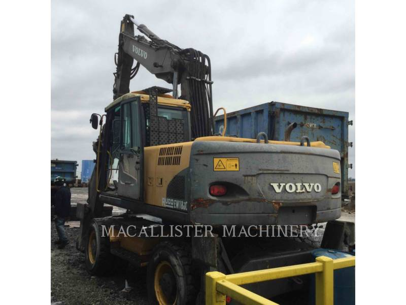 VOLVO CONSTRUCTION EQUIPMENT ホイール油圧ショベル EW180 equipment  photo 2