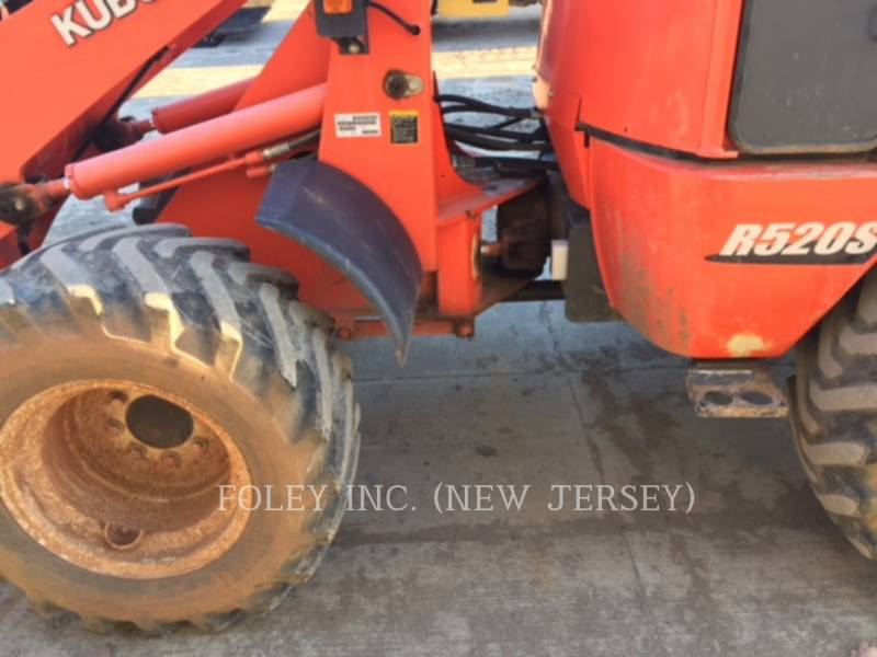 KUBOTA TRACTOR CORPORATION WHEEL LOADERS/INTEGRATED TOOLCARRIERS R520S equipment  photo 5