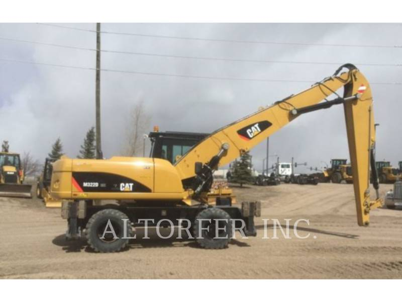 CATERPILLAR PELLES SUR PNEUS M322D MH equipment  photo 2