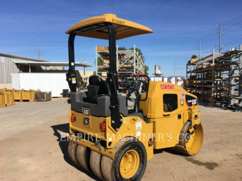 CATERPILLAR TAMBOR DOBLE VIBRATORIO ASFALTO CC34B equipment  photo 2