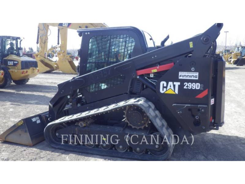 Caterpillar ÎNCĂRCĂTOARE PENTRU TEREN ACCIDENTAT 299D2 equipment  photo 5