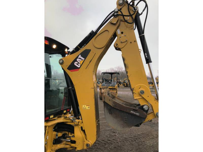 CATERPILLAR BAGGERLADER 420FST equipment  photo 11