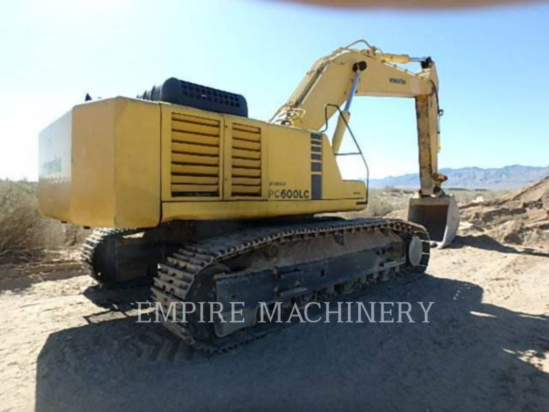 KOMATSU LTD. KETTEN-HYDRAULIKBAGGER PC600LC equipment  photo 3