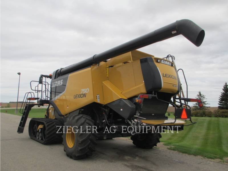 LEXION COMBINE COMBINES 750TTHS equipment  photo 14